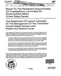 DOL Report