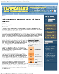 ibt union employer proposal would hit retirees